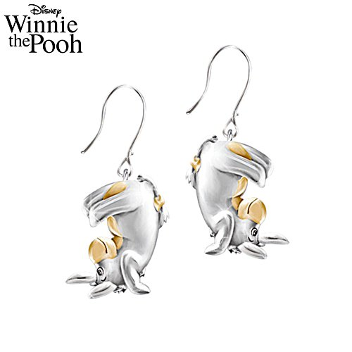 Disney Eeyore 'Some Days Look Better Upside Down' Ladies' Earrings