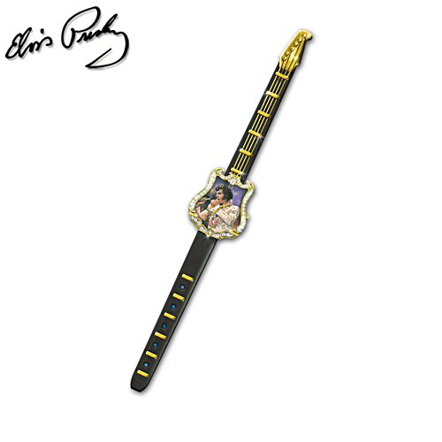 Elvis™ Guitar 'A Legend In Time' Men's Watch