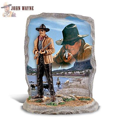 'John Wayne: Gunslinging Hero' Figurine