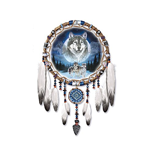 'Dreams Of The Wild' Wolf Wall Décor