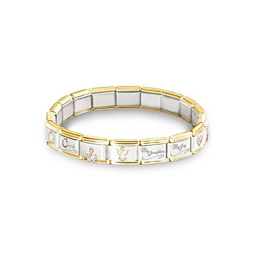 'Precious Daughter' Italian Charm Bracelet