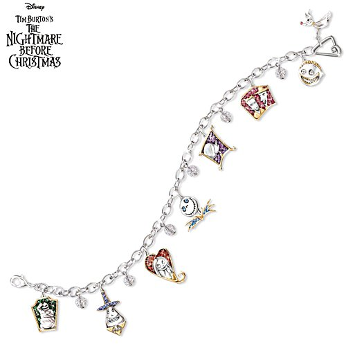 Disney Tim Burton 'The Nightmare Before Christmas' Charm Bracelet