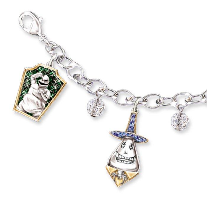 Disney Tim Burton The Nightmare Before Christmas Charm Bracelet