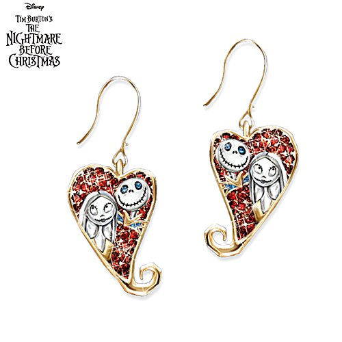 Disney Tim Burton 'The Nightmare Before Christmas' Earrings