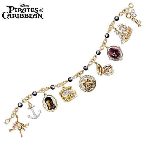 Disney 'Pirates Of The Caribbean' Ladies' Charm Bracelet