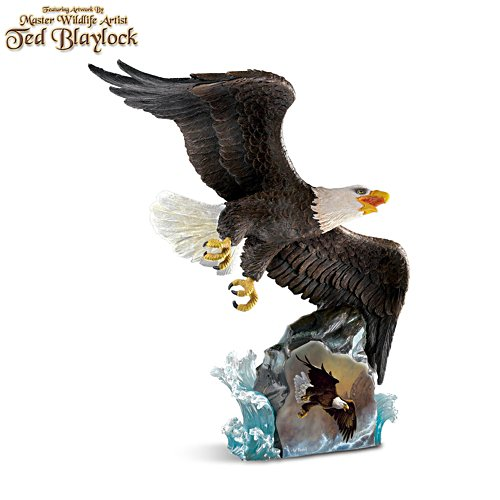 Ted Blaylock 'Coastal Hunter' Eagle Sculpture