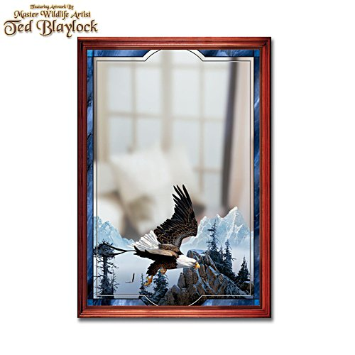 'Mountain Reflections' Eagle Mirror