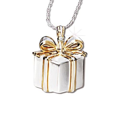 'Grandma's Gift' Granddaughter Diamond Pendant