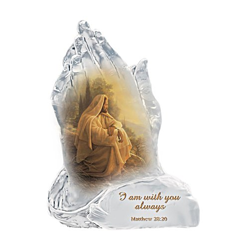 'Always With You' Faith Prayer Figurine