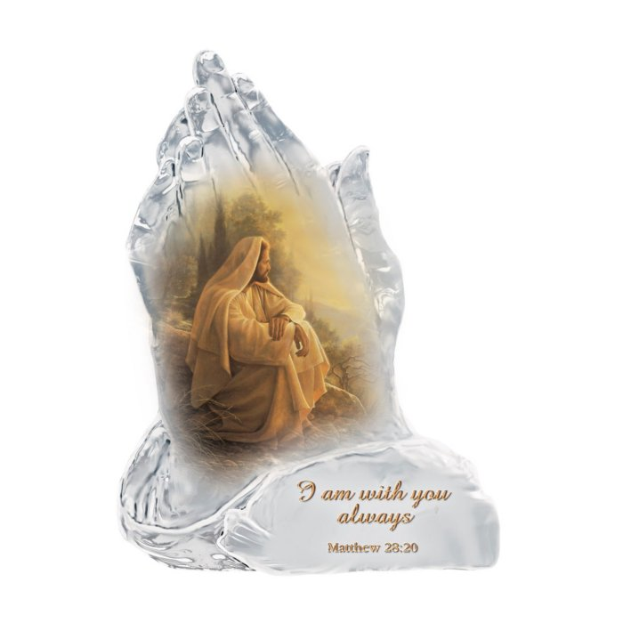 'Always With You' Faith Prayer Figurine