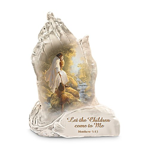 'All God's Children' Greg Olsen Faith Prayer Figurine