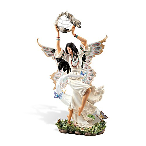 'Soaring Spirit' Native American Butterfly Figurine