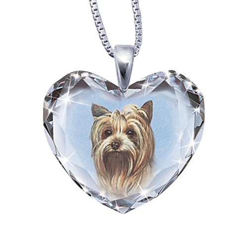 'Close To My Heart' Yorkie Dog Pendant