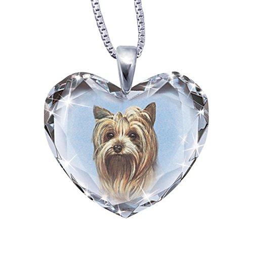'Close To My Heart' Yorkie Dog Pendant