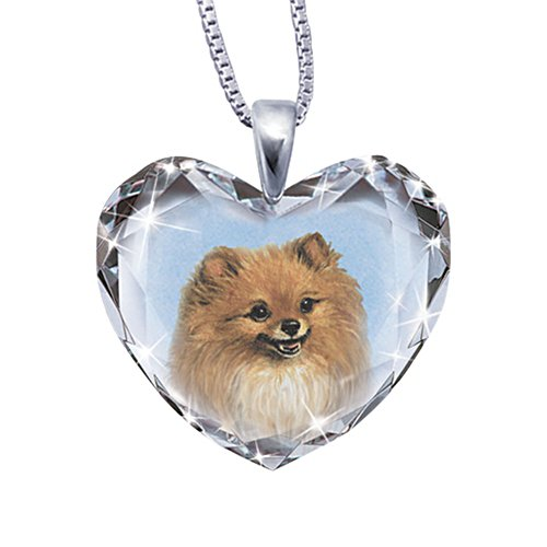 'Close To My Heart' Pomeranian Dog Pendant