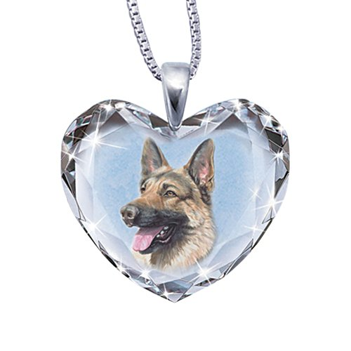 'Close To My Heart' German Shepherd Dog Pendant