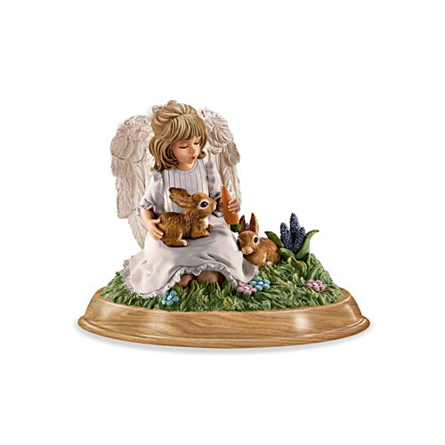 'Nurturing Heart' Guardian Angel Figurine