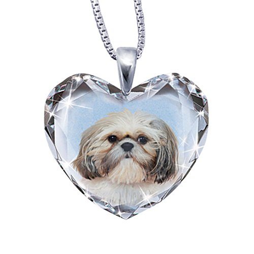 'Close To My Heart' Shih Tzu Dog Pendant