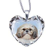 'Close To My Heart' Shih Tzu Dog Pendant