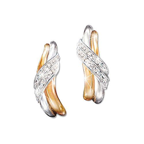 Diamond Embrace' Ladies' Diamond Earrings