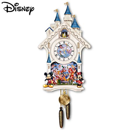 Disney 'Happiest Of Times' Cuckoo Clock