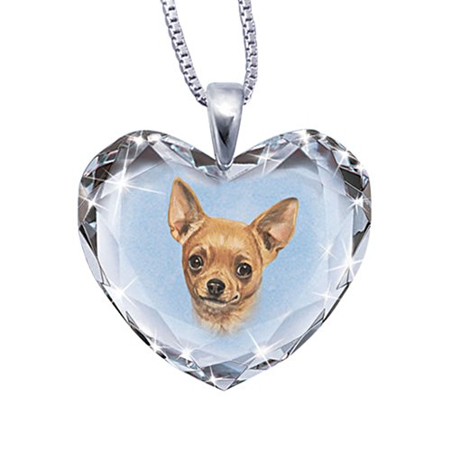 'Close To My Heart' Chihuahua Dog Pendant