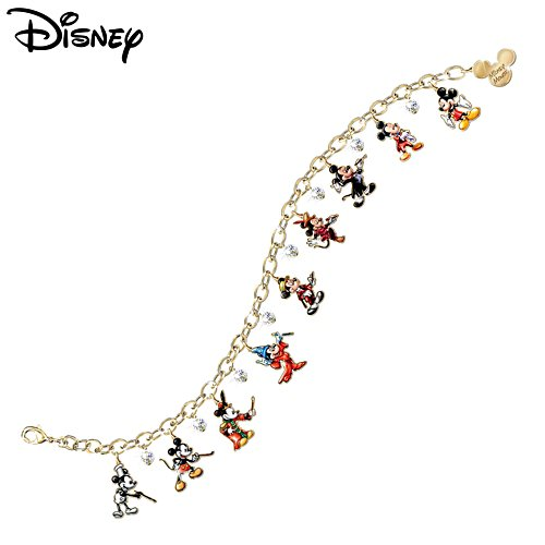Disney 'Mickey Through The Years' Ladies' Charm Bracelet