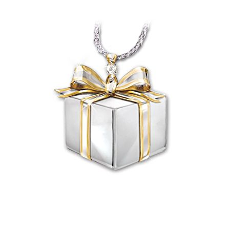'Gift Of Love' Daughter Diamond Pendant