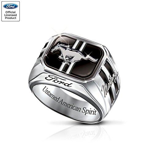 'Untamed American Spirit' Ford Mustang Ring