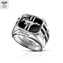 Ford Mustang Men's Ring