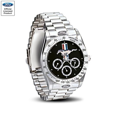 'Ford Mustang' Men's Watch