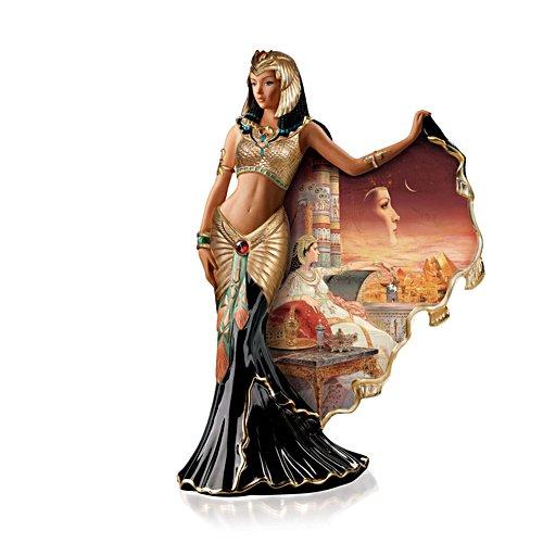 'Cleopatra: Goddess Of The Nile' Heirloom Porcelain Figurine