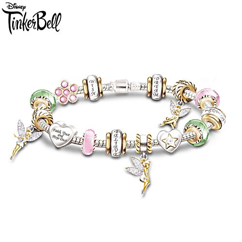 Disney 'Faith, Trust & Pixie Dust' Tinker Bell Bracelet