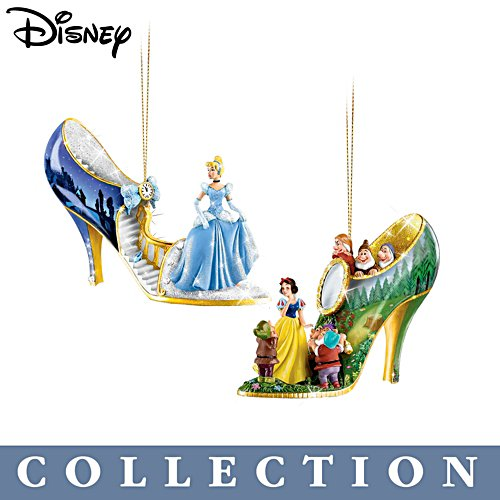 Disney 'Once Upon A Slipper' Christmas Ornament Collection