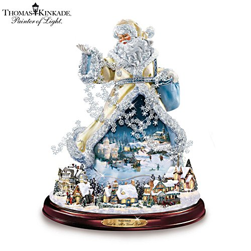 Thomas Kinkade 'And To All A Good Night' Figurine