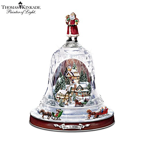 Thomas Kinkade 'Musical Bell' Ornament