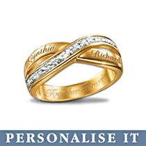'Eternity' Personalised Diamond Ring