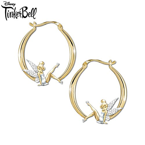 Disney 'Believe In The Magic' Tinker Bell Earrings