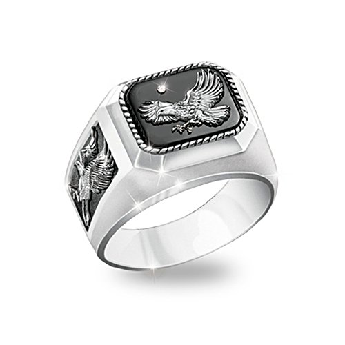 'Ruler Of The Skies' Eagle Men's Diamond Ring