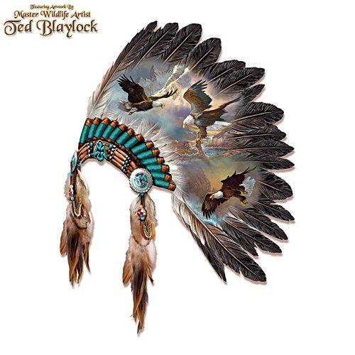 'Soaring Spirits' Eagle Headdress Wall Décor