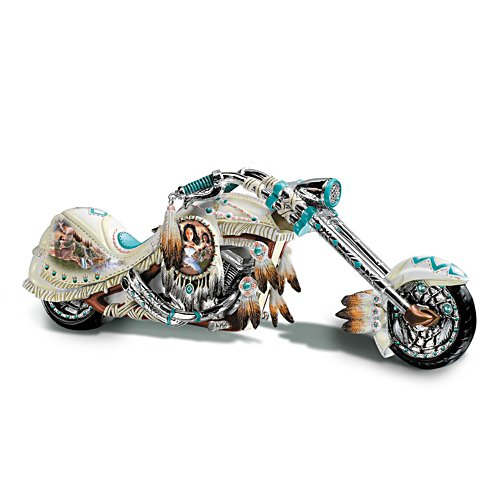 'Dream On Down The Highway' Chopper Figurine