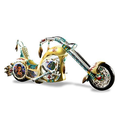 Donnernde Geister – Chopper-Skulptur