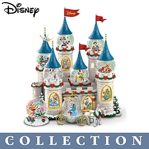 Disney 'Christmas At The Castle' Snowglobe Collection