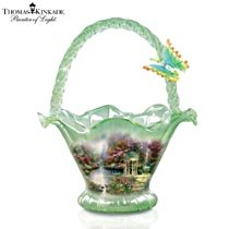 Thomas Kinkade 'Garden Of Prayer' Bowl