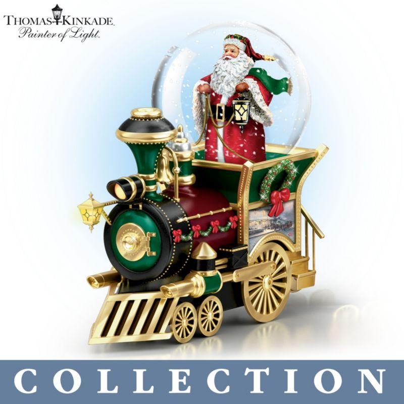 Thomas Kinkade U0027Wonderland Expressu0027 Train Collection