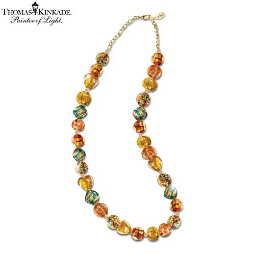 Thomas Kinkade 'Colours Of Venice' Beaded Necklace
