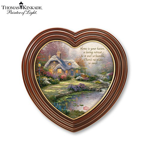 Thomas Kinkade 'Home Sweet Home' Wall Décor