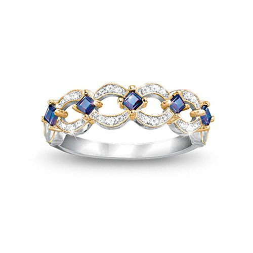 'Enchantment' Tanzanite And Diamond Ring