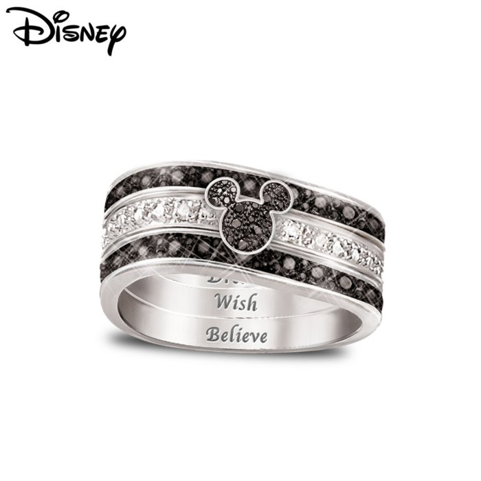 Disney Mickey Mouse Hidden Message Ring