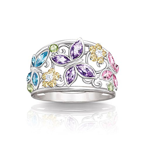'Spring Radiance' Butterfly Ring